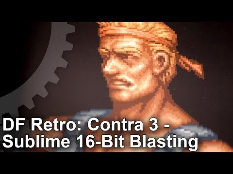 DF Retro: Contra 3 - The Alien Wars! Sublime 16-Bit Shooting!