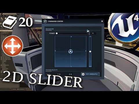 2D Slider guide for Unreal Engine 4