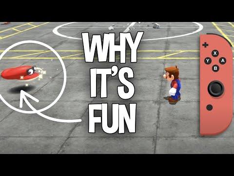 How Mario's Cap Throw Animation Works