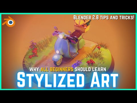 Should Beginners Learn Stylized Art? Blender Stylized Tips for Beginners