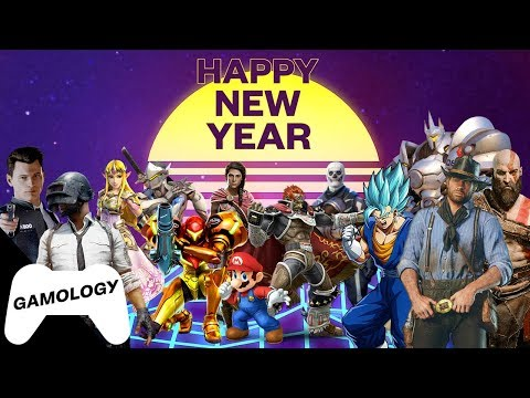 HAPPY NEW YEAR! - 2018 Best video games Mashup
