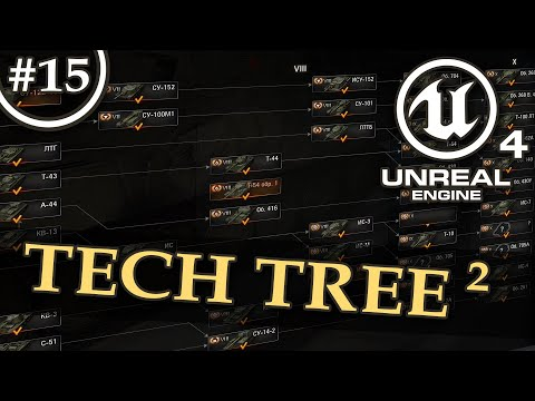Tech Tree, Progression system, Unlocks - Unreal Engine 4 Tutorial - 2/2
