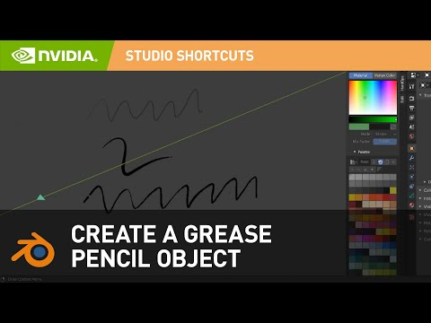 How to Create a Grease Pencil Object in Blender