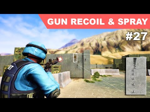 Unreal Third Person Shooter #27 - Gun Recoil and Spray