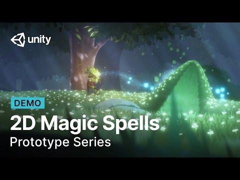 Creating 2D Magic Spells | Prototype Series