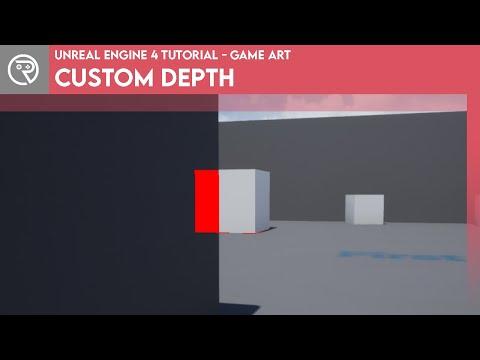 Unreal Engine 4 Tutorial - Custom Depth