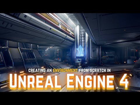 How to Create Your Own Real Time Sci-Fi Environment in UE4