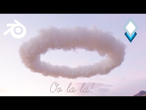 Shade and Light Dreamy Clouds in Blender 2.9 using Open VDBs