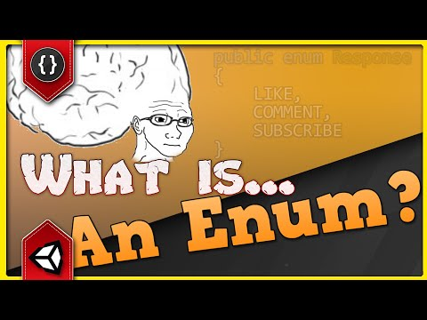 WHAT IS... An Enum? [Unity Tutorial]