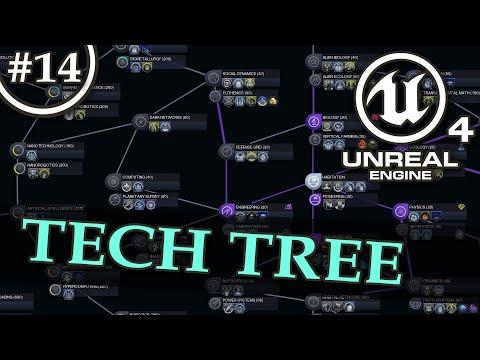 Tech Tree, Skill Tree - Unreal Engine 4 Tutorial - 1/2
