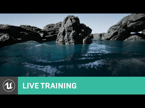 Water Surface Overview | Live Training | Unreal Engine