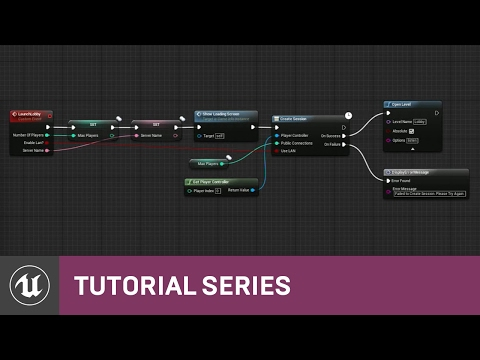 Blueprint Multiplayer: Project Overview | 01 | v4.11 Tutorial Series | Unreal Engine