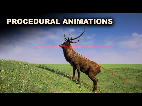 Procedural Movement Animations System for 4 legged characters - Part 4