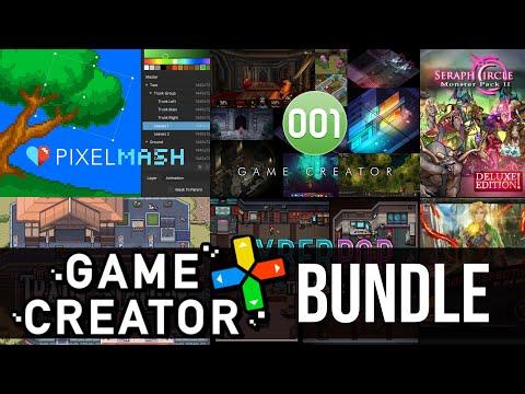 MASSIVE Game Creator Bundle (Includes 001 Game Engine & PixelMash)