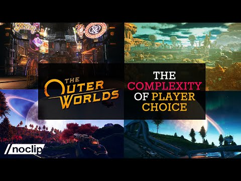 How Obsidian Designed Player Choice in The Outer Worlds