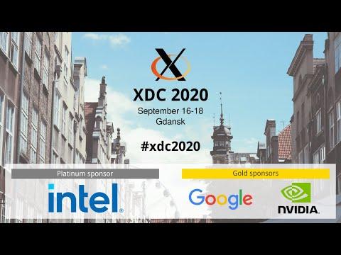 XDC 2020 - Day 1 - September 16, 2020