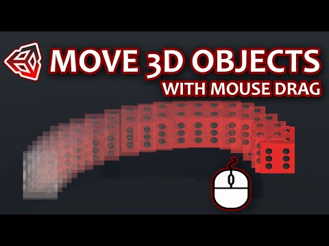 How To Move Objects With Mouse Drag in Unity | Unity 3D Tutorial