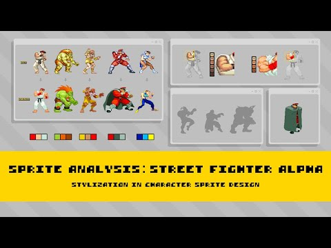 Sprite Analysis | Street Fighter Alpha: A Study of Character Stylization