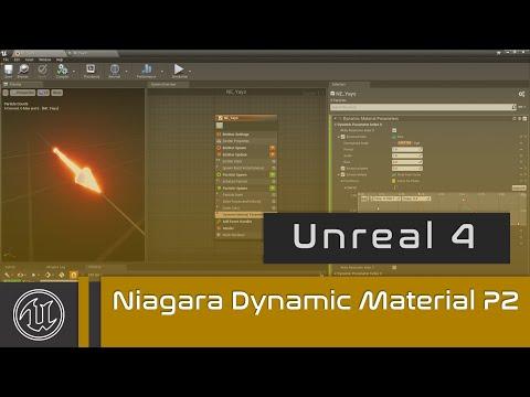 UE4 - Niagara Dynamic Material Parameters - Part 2