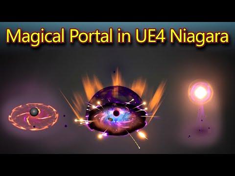 Magical Portal | Unreal Engine Niagara Tutorials | UE4 Niagara Portal