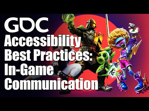 Accessibility Best Practices: In-Game Communication