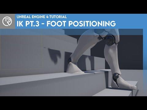 Unreal Engine 4 Tutorial - IK Part 3 - Foot Positioning