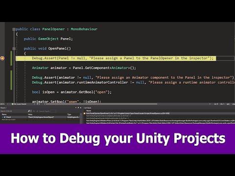 How to Debug Unity Scripts with Visual Studio