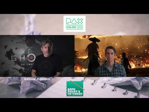 Ghost of Tsushima with Brian Fleming of Sucker Punch Productions | The AIAS Game Maker's Notebook