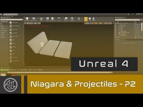 UE4 - Niagara Projectiles - Part 2 - Destroy/Explosion