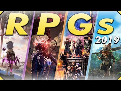 The RPGs & JRPGs of 2019 - Nearly 30 Upcoming Games!