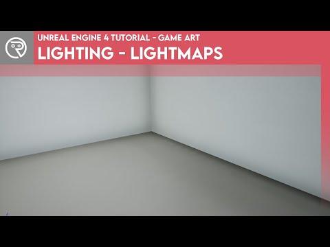 Unreal Engine 4 Tutorial - Lighting - Lightmaps