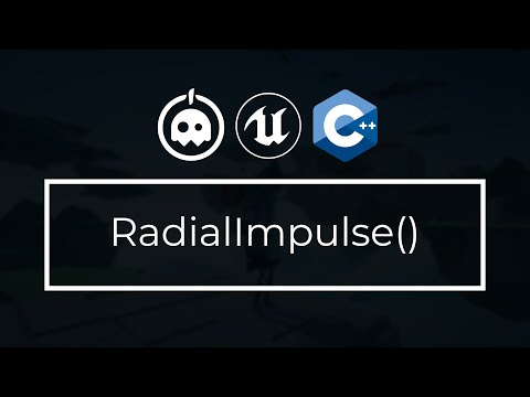 UE4 C++ Tutorial - What is Radial Impulse? - Physics - UE4 / Unreal Engine 4 Intro to C++