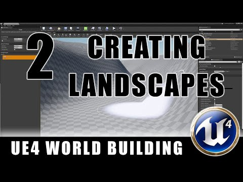 Creating Landscapes - Building Worlds In Unreal - Episode 2