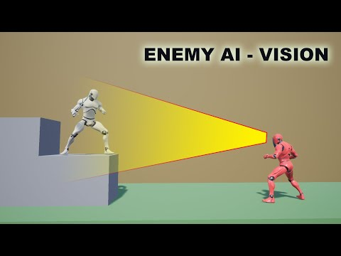 Unreal Sidescroller - Enemy AI Vision