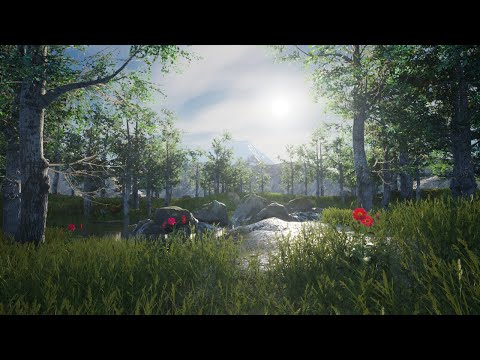 Building natural environments in Unreal Engine