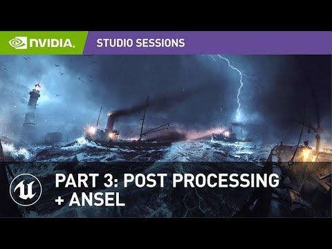 Create Impressive 360 Panoramic Concept Art w/ Vladimir Somov | Part 3: Post Processing + Ansel