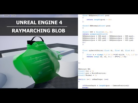 UE4 Tutorial - Blob with Raymarching