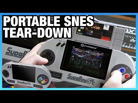 SupaBoy SFC Handheld & Portable SNES Tear-Down