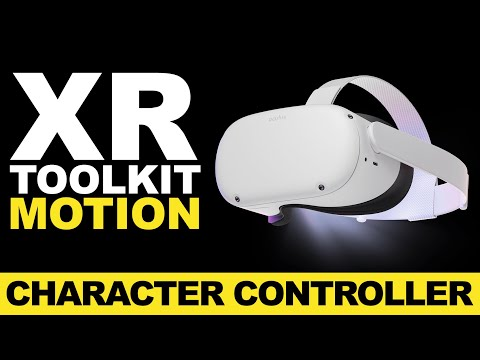 How To Add The Continuous Movement And Turning With Character Controller   Unity XR Toolkit