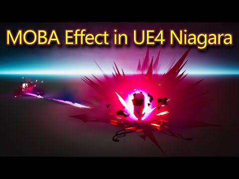 MOBA - Attack Effect   Unreal Engine Niagara Tutorials   UE4 Niagara MOBA Effect