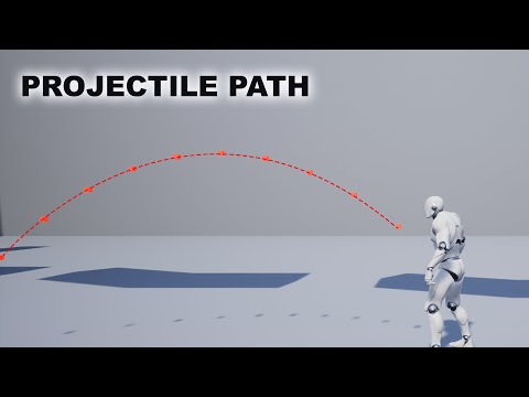 Projectile Trajectory in Unreal