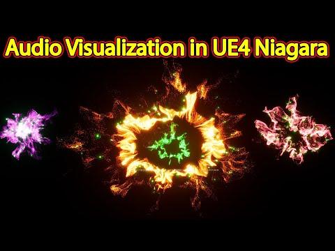 Audio Visualization | Files on Patreon | Unreal Engine Niagara Tutorial | UE4 Niagara Audio Spectrum