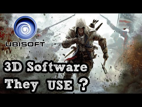 what 3D software Ubisoft Use