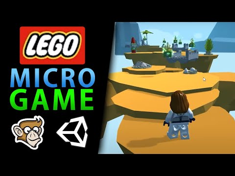 Build a World Brick by Virtual Brick with the LEGO Microgame!