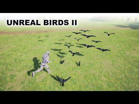 Unreal Bird NPC- AI Controller & Fly Away