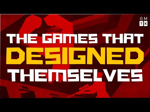 The Games That Designed Themselves
