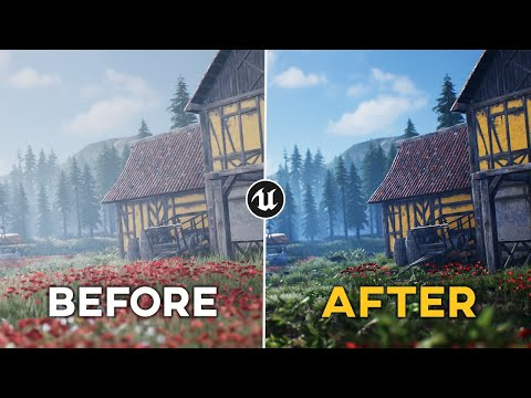 Post Processing in Unreal Engine 4 | UE4 Tutorial (2020)