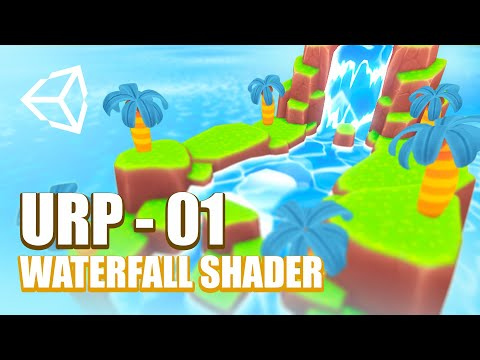 Creando una Cascada con Shader Graph | Unity Tutorial | Ch 01