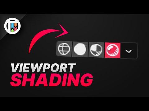 All About Viewport Shading - Blender 2.9 Eevee Tutorial