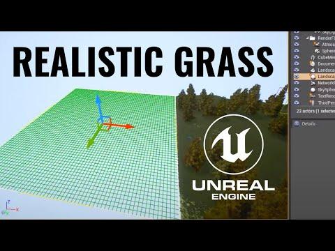 Make SUPER Realistic Grass in Unreal Engine (Beginner Tutorial)